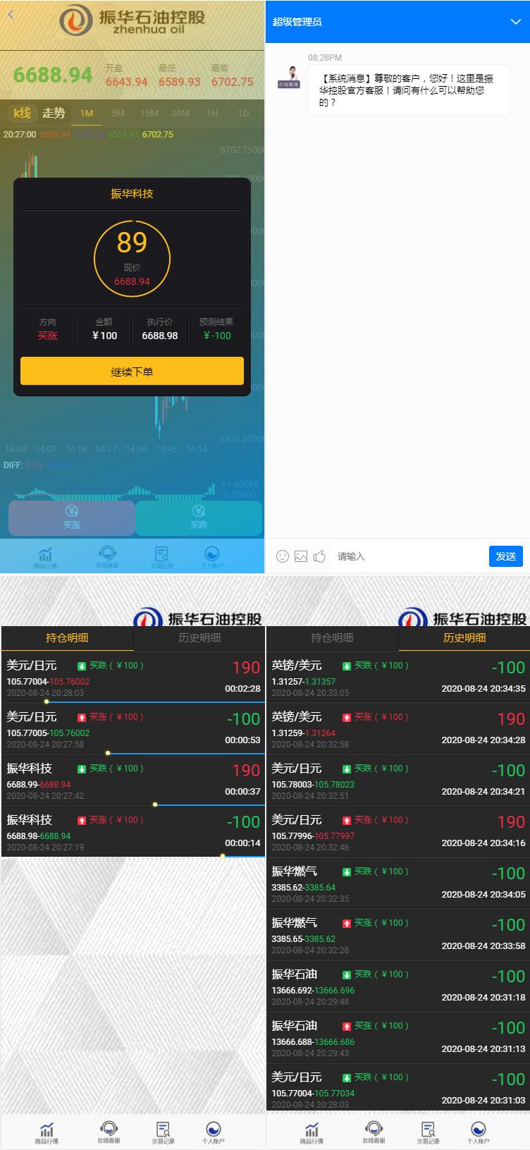 8月更新石油振华控股+微盘二开ui完整版+K线正常+不卡顿+文字教程